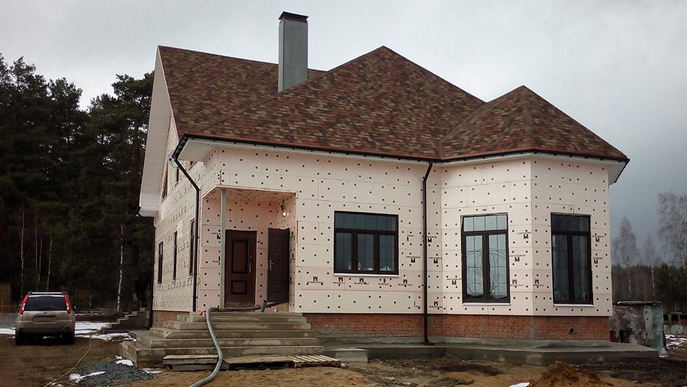 дом в Егорьевске под полусухую стяжку