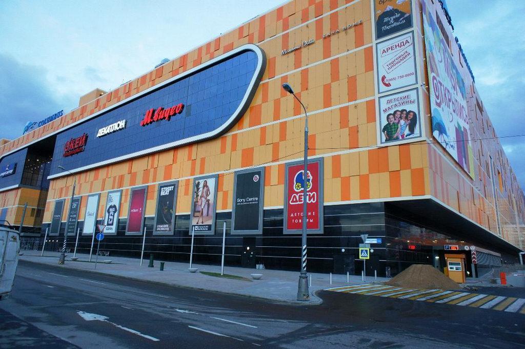 стяжка пола в торговым центре, Москва