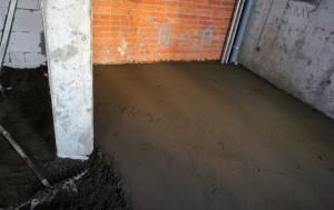 Цементная стяжка пола Истринский район