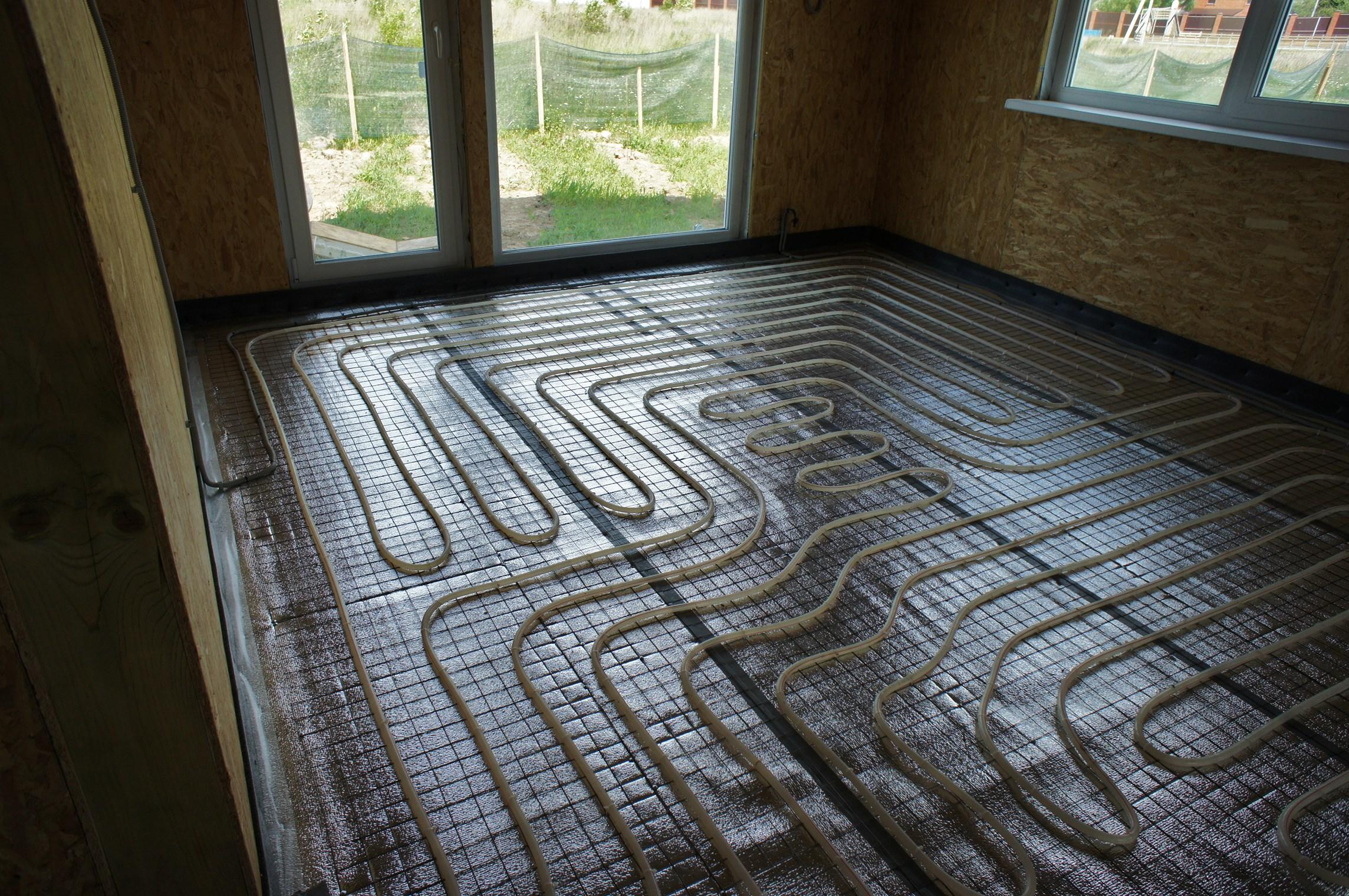 фольга под теплый пол для изоляции