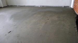 выравнивание цементно-песчаной смеси