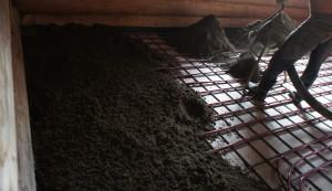 стяжка по теплому полу