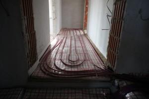 теплый пол в коридоре
