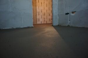 слой цементной стяжки