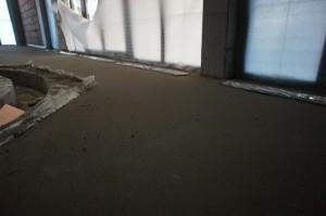 цементно-песчаная стяжка в бассейне