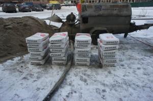 цемент для стяжки