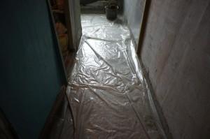 пленка под стяжку в коридоре