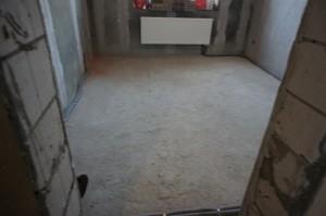 бетонное основание пола в доме