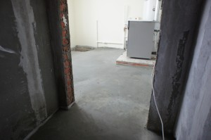 слой стяжки в помещении