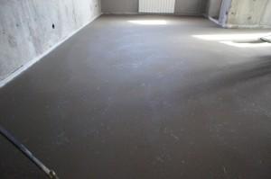 цементно-песчаный слой с фиброармированием