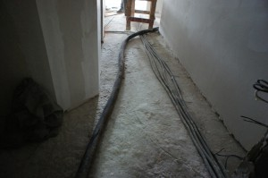 бетонное основание пола