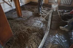 цементная стяжка на деревянный пол