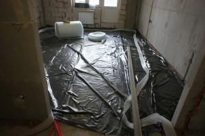 подготовка помещения к устройству стяжки
