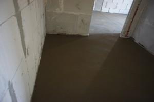 цементно-песчаный пол в квартире