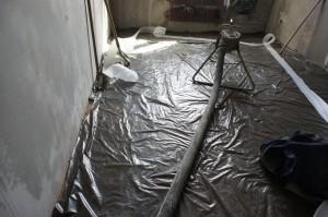 подготовка к монтажу стяжки