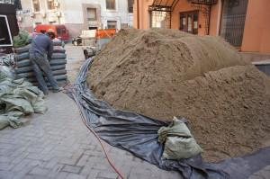 песок для приготовления полусухой смеси