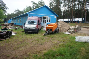 оборудование и материалы для стяжки