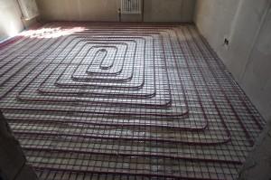 теплый пол под стяжкой