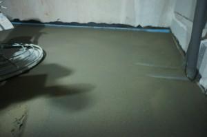 обработка поверхности стяжки