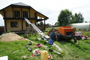 дом под стяжку в Чехове