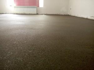 цементно-песчаные полы в доме