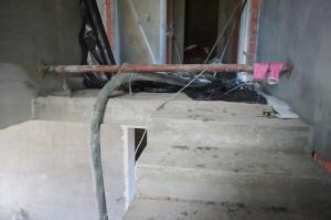 бетонное основание под стяжку пола