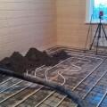 полусухая стяжка на теплый пол