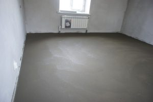цементно-песчаный пол