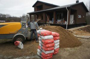 Цементная стяжка пола Чехов