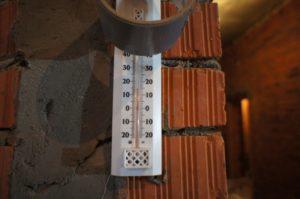 температура в помещении при укладке стяжки