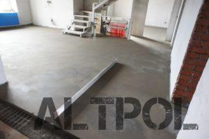 заливка бетонной стяжки теплого пола