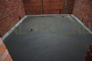 Стяжка пола цена метр материалом Звенигород