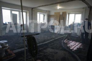 полусухая стяжка в квартире