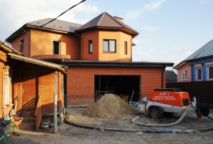 работа по выравниванию в доме в Егорьевске